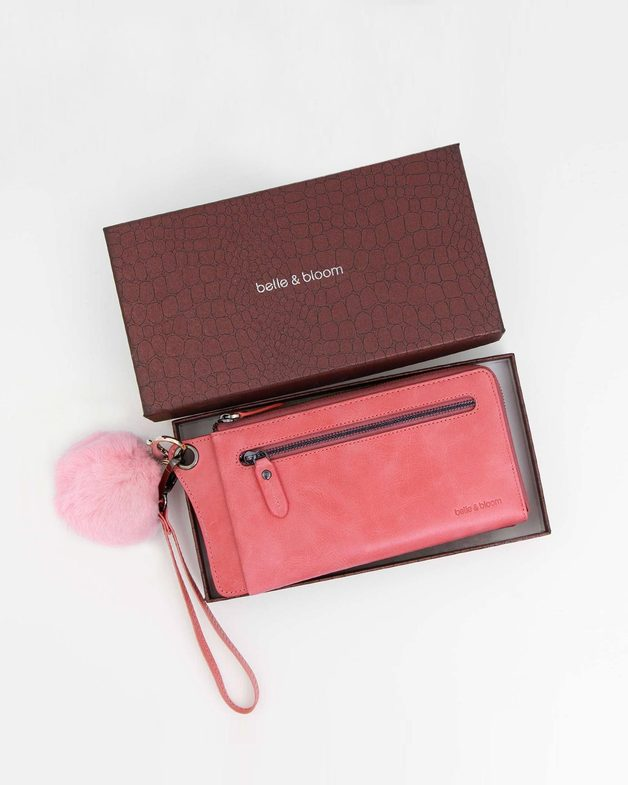 Belle and Bloom: Penelope Gift Pack + Fur Keychain - Pink