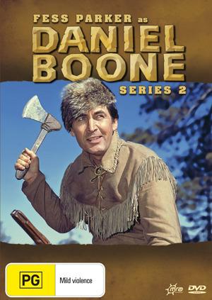 Daniel Boone (1964) - Season 2 (8 Disc Box Set) on DVD