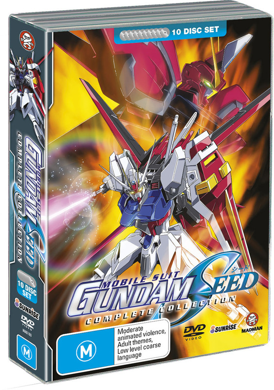 Gundam Seed - Complete Collection (10 Disc Box Set) on DVD