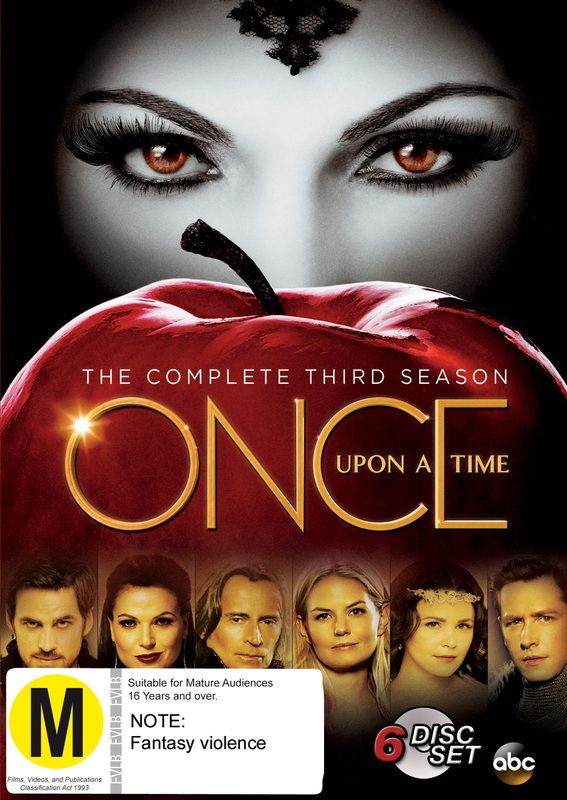 Once Upon a Time - The Complete Third Season on DVD