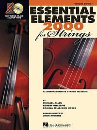 Essential Elements 2000 for Strings Plus DVD: Violin by M. Brewster David