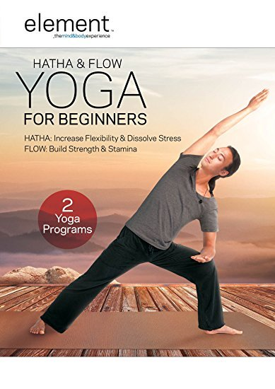 Element - Hatha & Flow Yoga For Beginners on DVD image