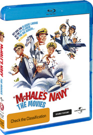 McHale's Navy Movie Double Feature on Blu-ray