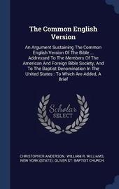 The Common English Version by Christopher Anderson image