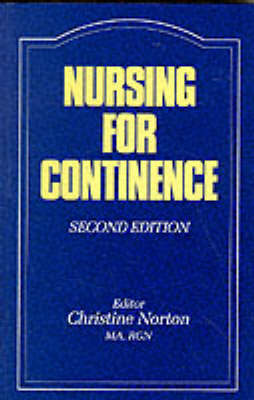 Nursing for Continence image