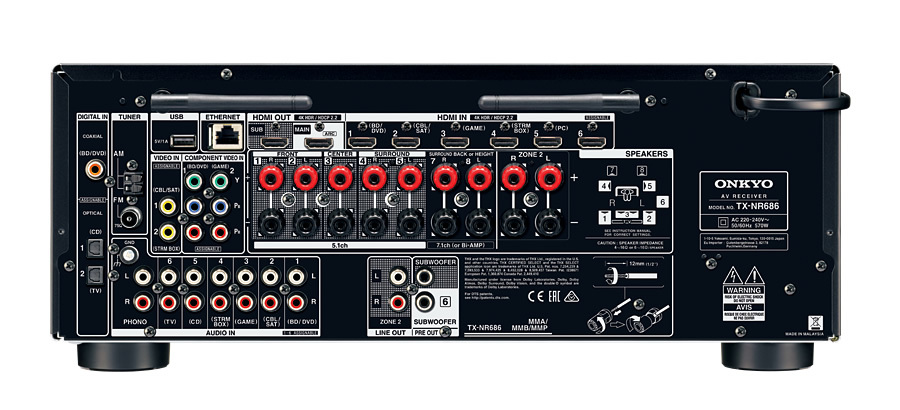 Onkyo: TX-NR686 7.2 Channel Network AV Receiver image