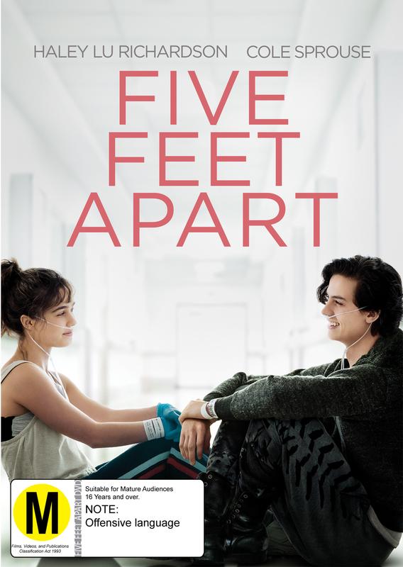 Five Feet Apart on DVD