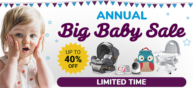 Annual Big Baby Sale