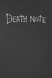Death Note Notebook / Journal by Inkway Star