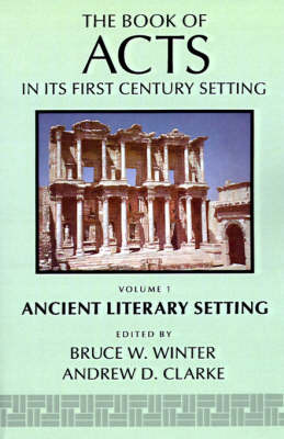 The Book of Acts in Its Ancient Literary Setting image