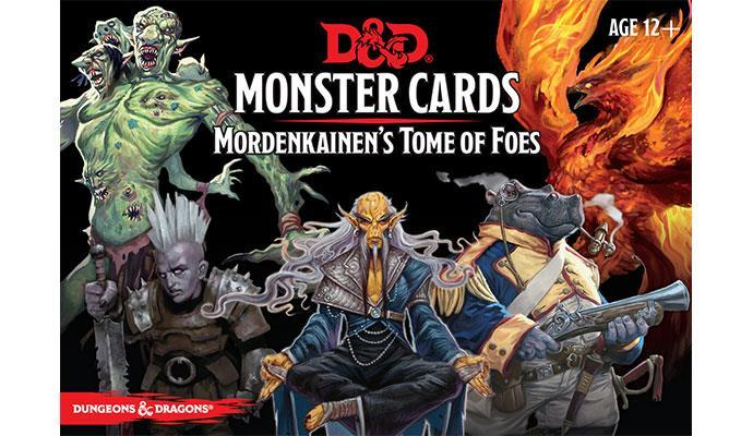 D&D Monster Cards: Mordenkainen's Tome of Foes (109 cards) image