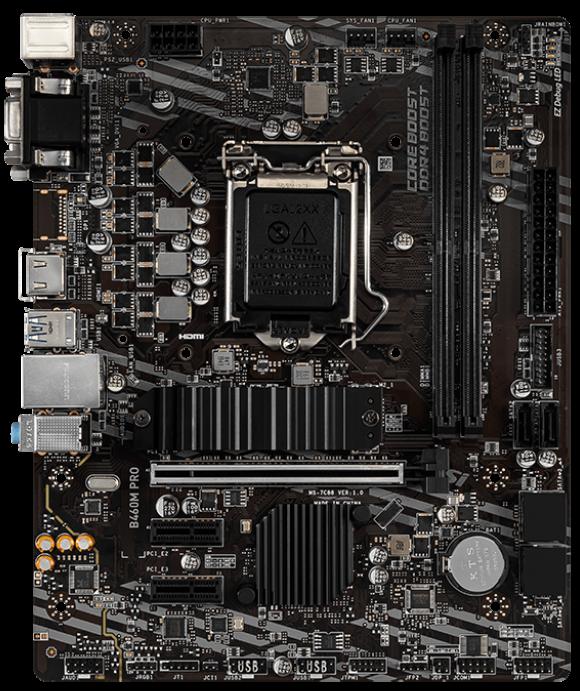 MSI B460M PRO mATX Motherboard