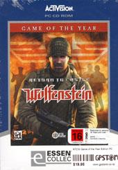 Return To Castle Wolfenstein: Game of the Year for PC