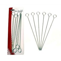 "Chrome Skewers - 10""/25cm Set of 6"