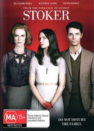 Stoker on DVD