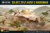 Sd.Kfz 251/1 Ausf C Hanomag (German Halftrack)