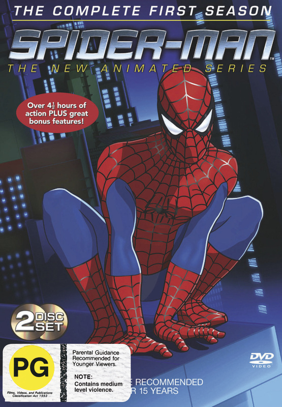 Spider-Man - The Animated Series: Complete Season 1 (2 Disc Set) on DVD