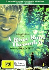 A River Runs Through It - Special Edition on DVD