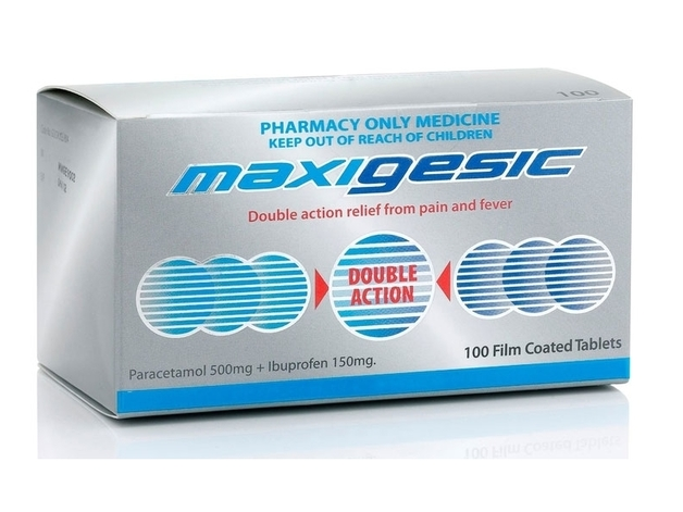 Maxigesic Pain Relief (100 Tablets)