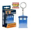 Dr Who - TARDIS (Materializing) Pocket Pop! Key Chain