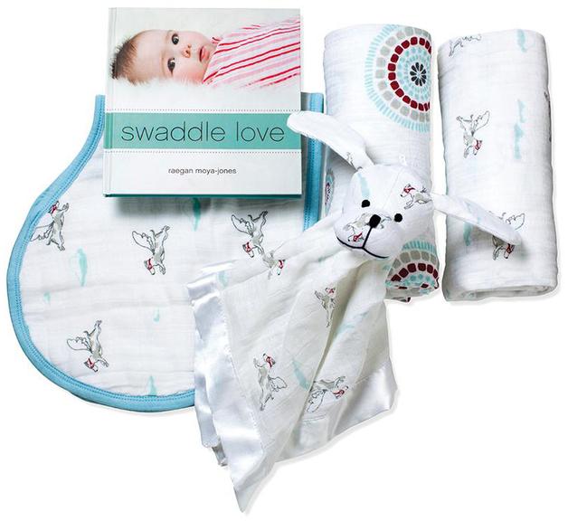 Aden + Anais Newborn Liam The Brave Gift Set