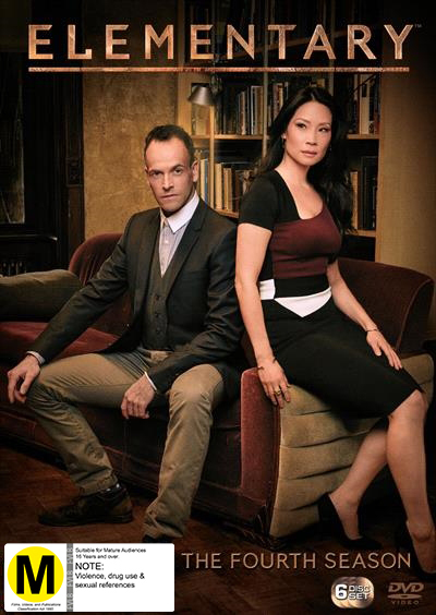 Elementary - The Complete Fourth Season DVD image