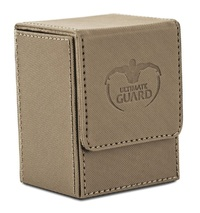 Ultimate Guard: 80+ XenoSkin Flip Deck Case (Sand)