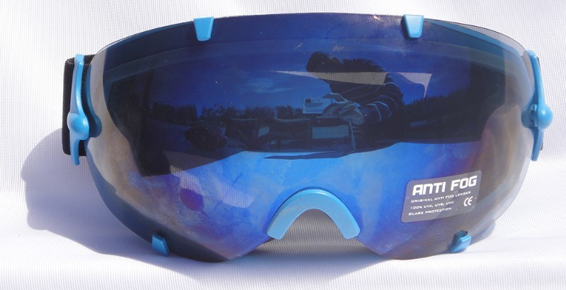 Mountain Wear Adult Mirrored Goggles: Blue (G2022) image