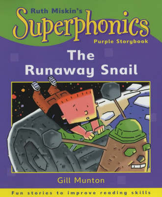 Purple Storybook: The Runaway Snail by Gill Munton image