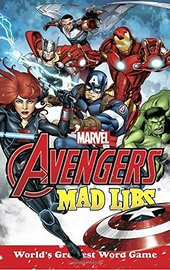 Marvel's Avengers Mad Libs by Paul Kupperberg image