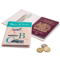 Monkey Business: A Novel Passport Cover (Planes & Trains)