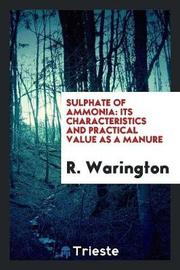 Sulphate of Ammonia by R. Warington image