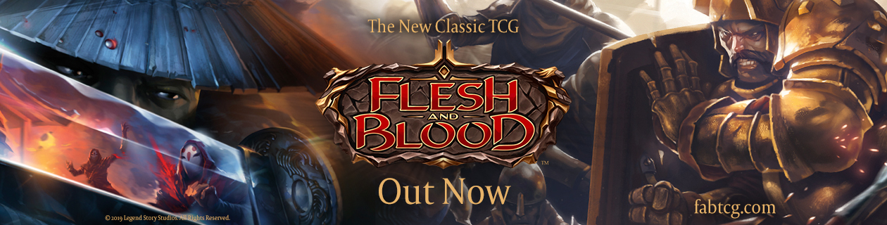 Flesh and Blood Trading Card Game is out now!
