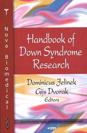 Handbook of Down Syndrome Research by Dominicus Jelinek image