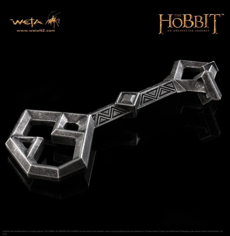 The Hobbit Key to Erebor Prop Replica - by Weta image