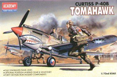 Academy P-40B Tomahawk 1/72 Model Kit