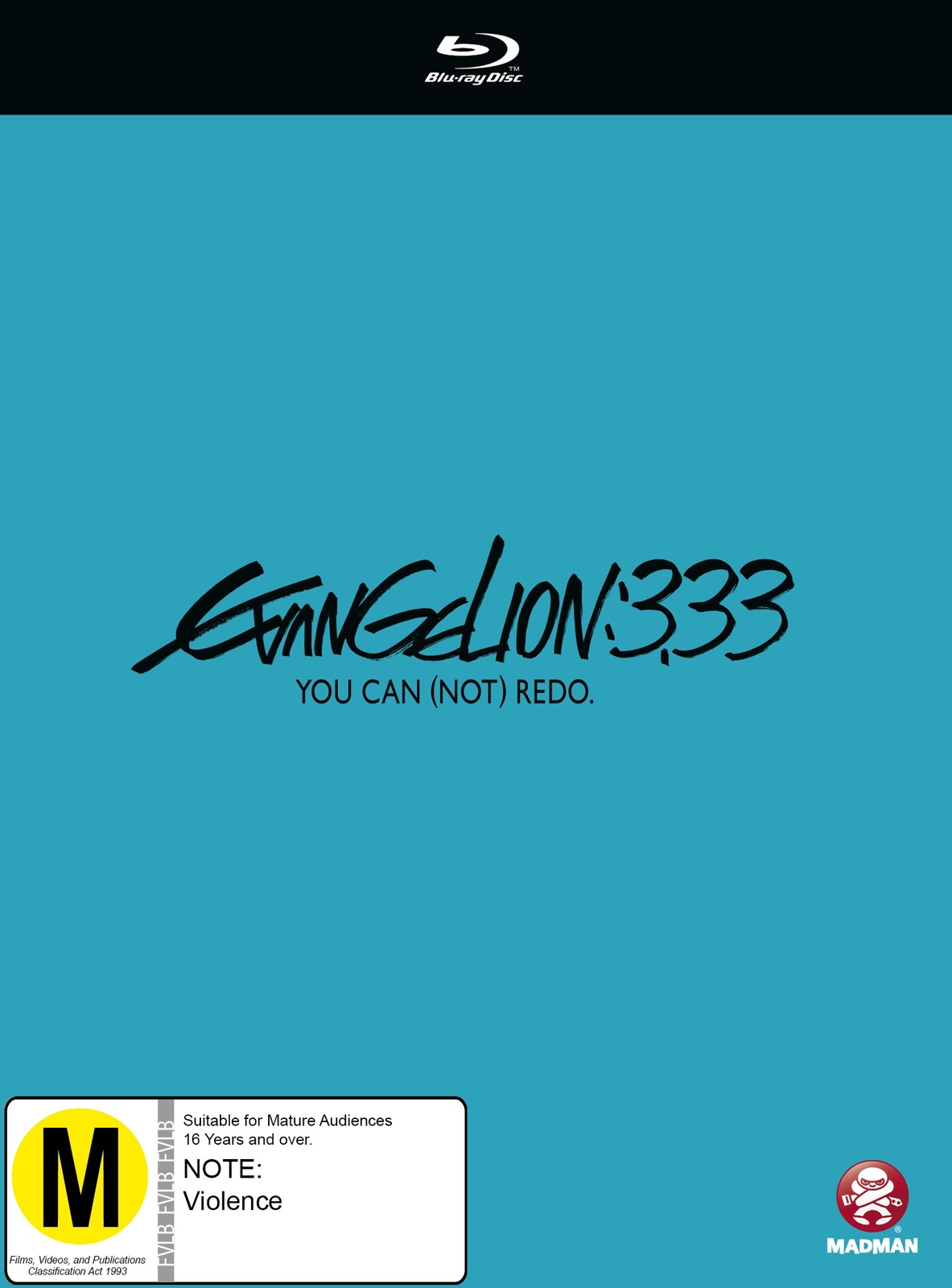 Evangelion 3.33 You Can (Not) Redo on Blu-ray image