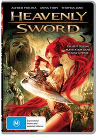 Heavenly Sword on DVD