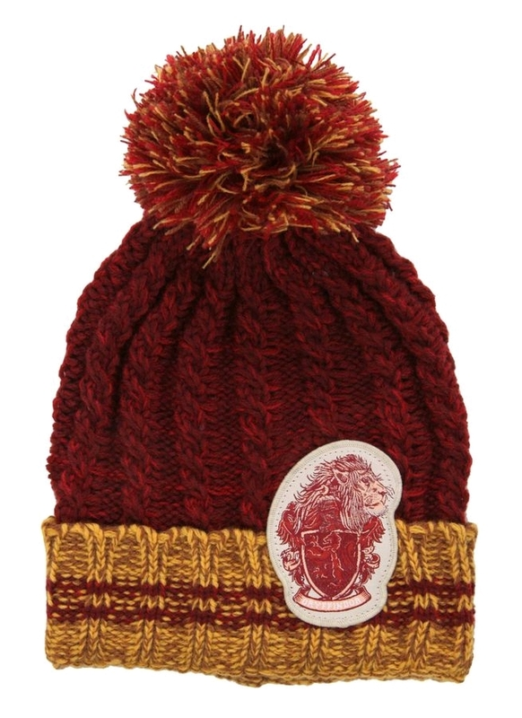 cd7d16340e2 Harry Potter - Gryffindor Heathered Pom Beanie