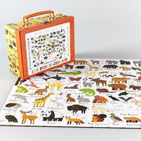 Floss & Rock: 130 Piece Puzzle - Animals