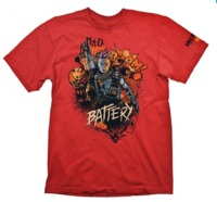 "Call of Duty: Black Ops 4 T-Shirt ""Battery Red"", M"