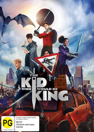 The Kid Who Would Be King on DVD