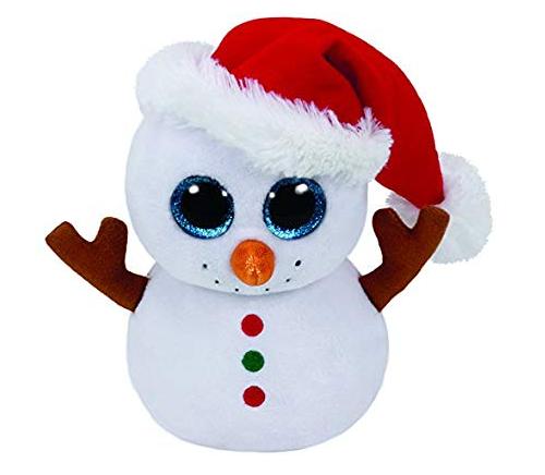Ty Beanie Boo: Flurry Snowman - Large Plush