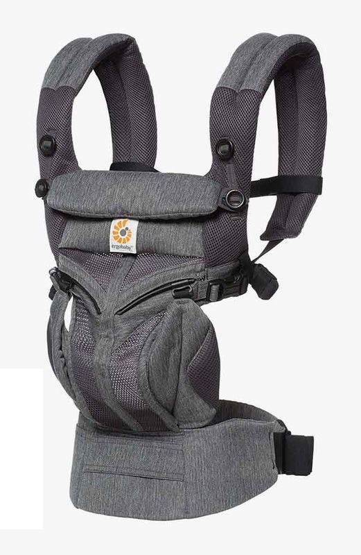 Ergobaby: Omni 360 - Cool Air Mesh All-In-One Baby Carrier (Classic Weave)