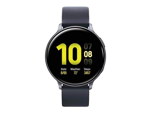 Samsung Galaxy Watch Active 2 Aluminum - Aqua Black (44mm)