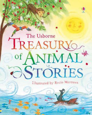 The Usborne Treasury of Animal Stories image