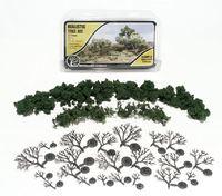 Woodland Scenics Med Green Realistic Tree Kit (21 pack)