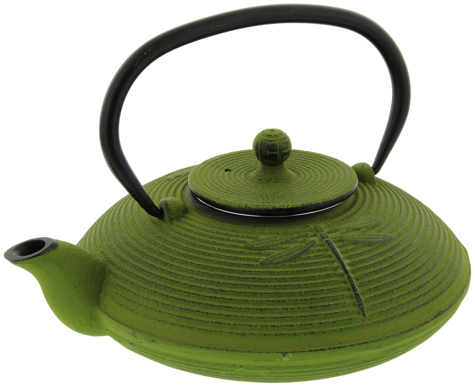 Green Dragonfly Cast Iron Teapot (770ml) image