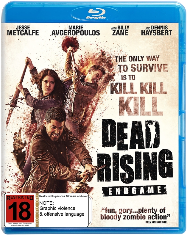 Dead Rising: Endgame on Blu-ray