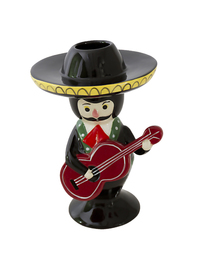 Kitsch Kitchen Candle Holder (Mariachi)